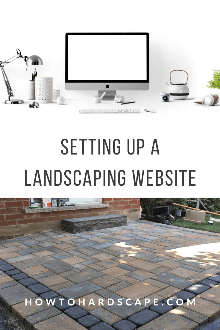 Setting Up a Landscaping Website