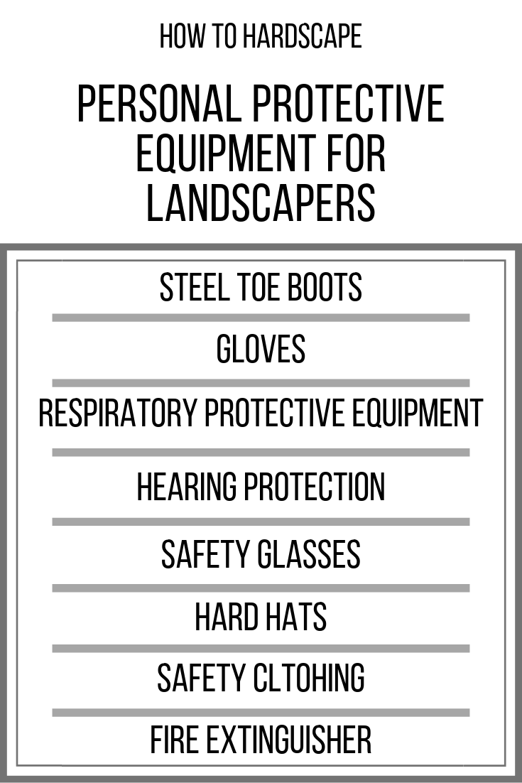 Landscaping Safety Equipment Checklist