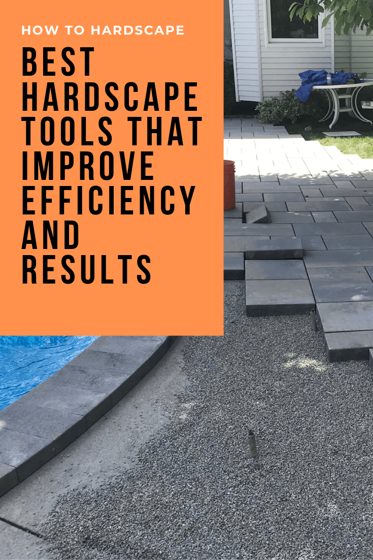 Best Hardscape Tools That Improve Efficiency and Results