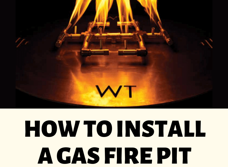 How to Install a Gas Fire Pit and Fire Features