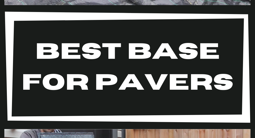 best-base-for-pavers