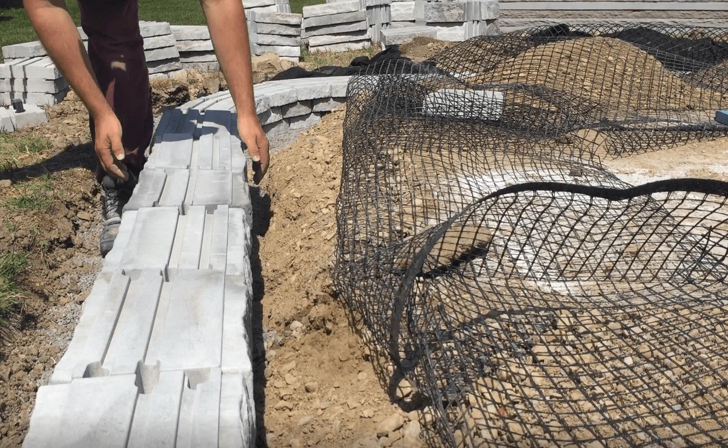 biaxial-geogrid-raised-patio-installation